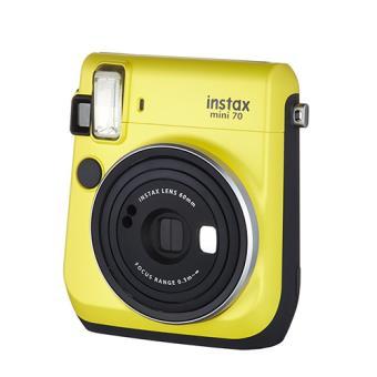 Cámara instantánea Fujifilm Instax mini 70 amarillo + Carga