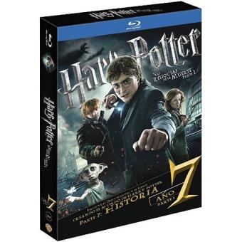 Harry Potter y las reliquias de la muerte. Parte 1 - Blu-Ray + Libreto