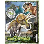 Dinosaurios-cuaderno de pegatinas