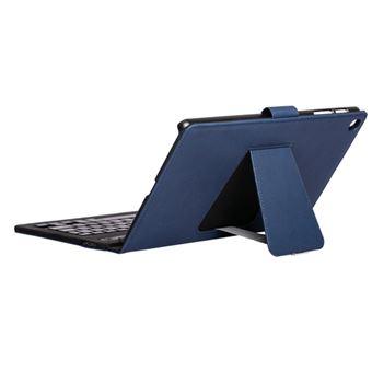 Funda con soporte y teclado Bluetooth SilverHT Azul para Samsung Galaxy Tab A 10,1 (2019)