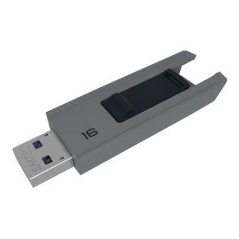 Pendrive Memoria USB 3.0 Emtec B250 16GB Gris