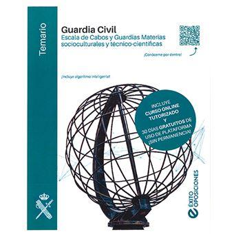 Guardia Civil - Escala de Cabos y Guardias Materias socioculturales y técnico-científicas - Temario