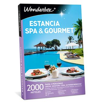 Caja regalo Wonderbox Estancia spa & gourmet