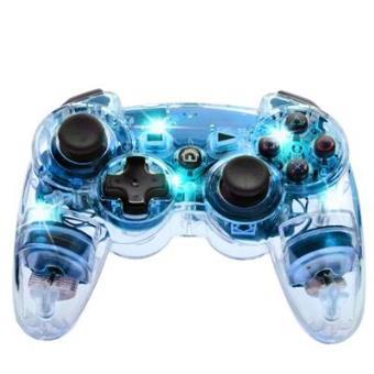 Mando Afterglow Wireless azul PS3