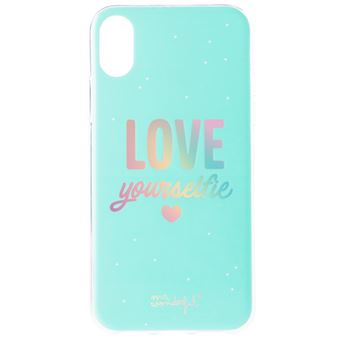 Funda Mr Wonderful para iPhone Xs Love yourselfie