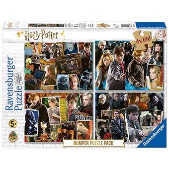 Puzzle Harry Potter 4 x 100 piezas