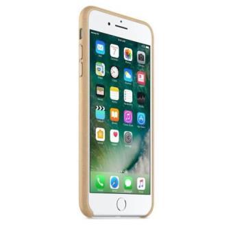 8d2fa3b0ccc Funda Leather Case para el iPhone 7 Plus Canela - Funda para ...