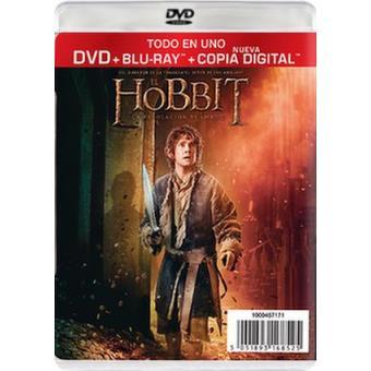 El Hobbit 2: La desolación de Smaug - DVD + Blu-Ray
