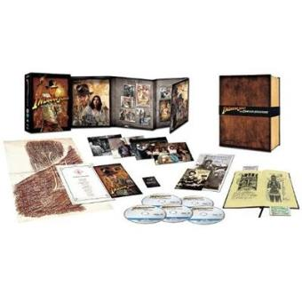Pack Indiana Jones -  Ed coleccionista - Blu-Ray