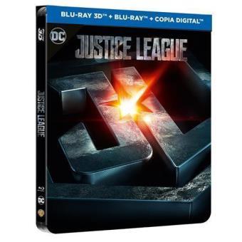 Liga de la Justicia - Steelbook Blu-Ray + 3D