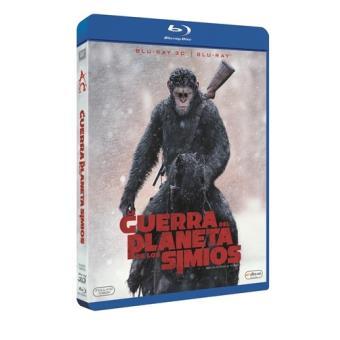 La guerra del planeta de los simios - Blu-Ray + 3D