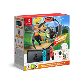 Consola Nintendo Switch + Ring Fit Adventure