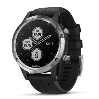 Smartwatch Garmin Fenix 5 Plus Negro