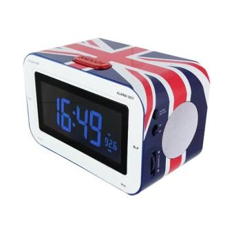 "Radio despertador BigBen RR30 ""United Kingdom"" LCD"