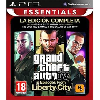 Grand Theft Auto IV - Complete Edition Essentials PS3