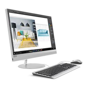 Todo en Uno Lenovo Ideacentre AIO 520-22IKU 21,5'' Plata