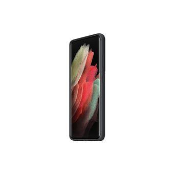 Funda de silicona Samsung Negro para Galaxy S21 Ultra