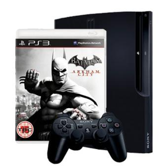 PS3 320 Gb + Batman Arkham City