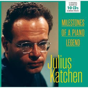 Milestones of a Piano Legend: Julius Katchen (10 CD)