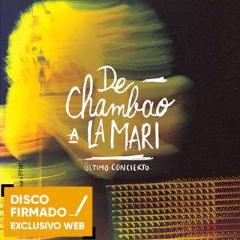 De Chambao a La Mari - 2CD+DVD+Libro - Disco Firmado