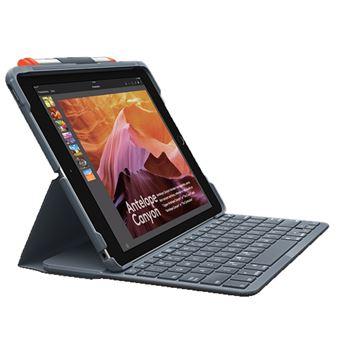 Funda con teclado Logitech Slim Folio Negro para iPad Air (3ª Gen.)