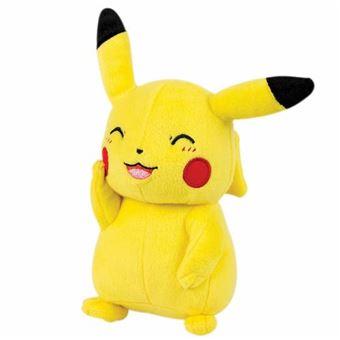 Peluche Pikachu sonriente