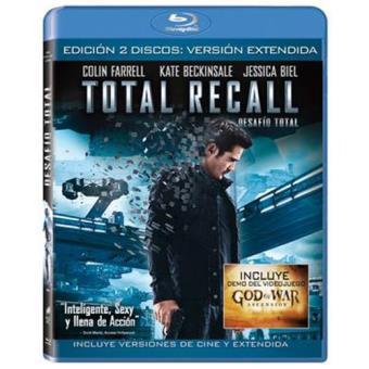 Total Recall: Desafío total - Edición extendida - Blu-Ray
