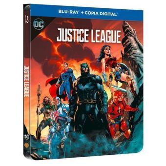 Liga de la Justicia - Steelbook Blu-Ray - DC Ilustrado