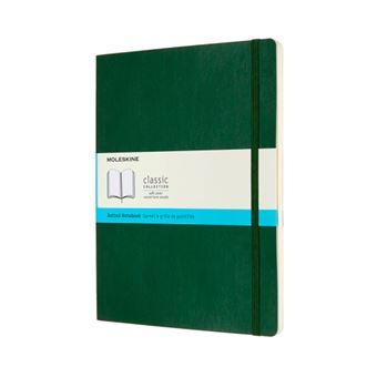 Cuaderno Moleskine Classic XL puntos tapa blanda verde mirto