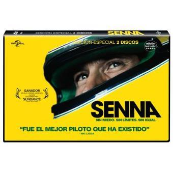 Senna: Sin miedo, sin límite- DVD Ed Horizontal