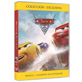 Cars 3 - DVD + Cuaderno de actividades - Exclusiva Fnac