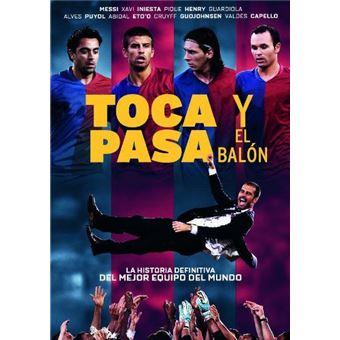 Toca y pasa el balón - DVD