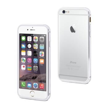 Funda MCA bumper aluminio plata para iPhone 7
