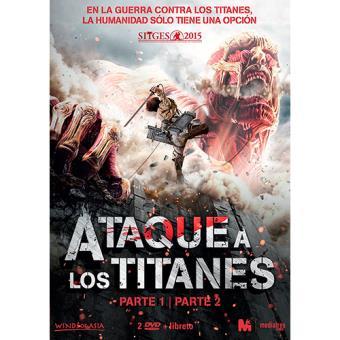 Pack Ataque a los titanes: Parte 1 y 2 - DVD