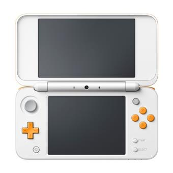Consola New Nintendo 2DS XL Blanco/Naranja
