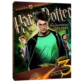 Harry Potter y el prisionero de Azkaban - DVD + Libreto