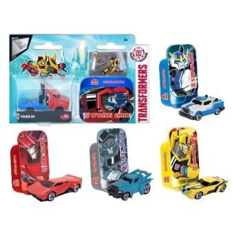 Figura Transformers caja metalica - Varios Modelos