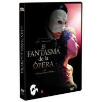 El fantásma de la ópera - DVD
