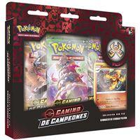 Caja Pokémon Pin collection Camino de campeones - varios modelos