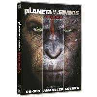 Pack Trilogía El planeta de los simios - DVD