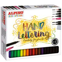 Set Color Experience Alpino Hand Lettering