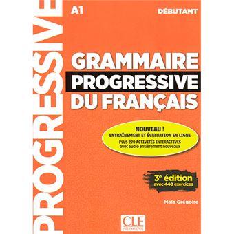Grammaire Progressive du Français - Niveau Débutant - Livre + CD