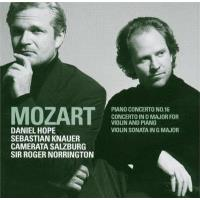 Mozart : Piano Concerto No.16 K451, Violin Sonata in G major K379, Concerto for Violin & Piano K.App.56/K315f
