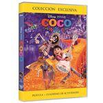 Coco - DVD + Cuaderno de actividades - Exclusiva Fnac