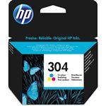 Cartucho de tinta Color HP 304 N9K05AE