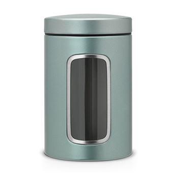 Tarro con ventana Brabantia 1,4 L Mint