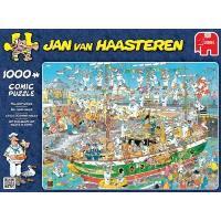 Puzzle cómic caos en barco 1000 pzs.