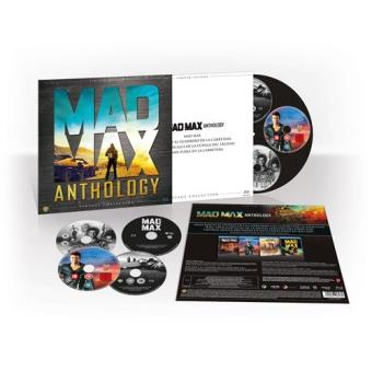 Pack Mad Max - Ed Limitada Vintage - Exclusiva Fnac - Blu-Ray