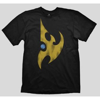 Camiseta Starcraft II Protoss Vintage Logo - Talla L