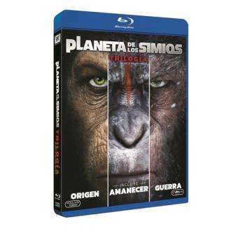Pack Trilogía El planeta de los simios - Blu-Ray